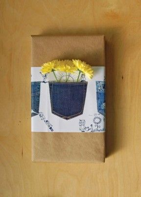 Love the idea of adding a pocket on packaging to hold a card. More creative ideas at: giftshopmag.com