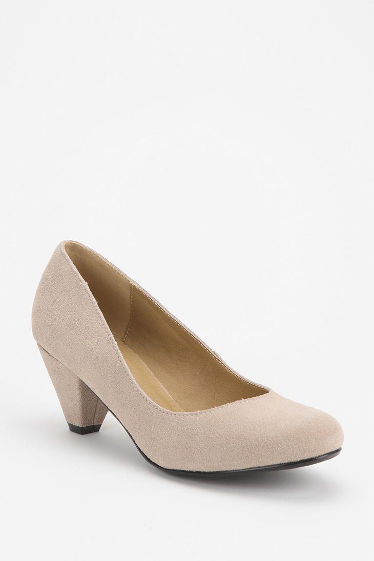 BDG Suede Kitten Heel - (get leather version)