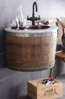 Basement bathroom vanity: