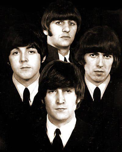 Pretty awesome picture of the Fab Four.