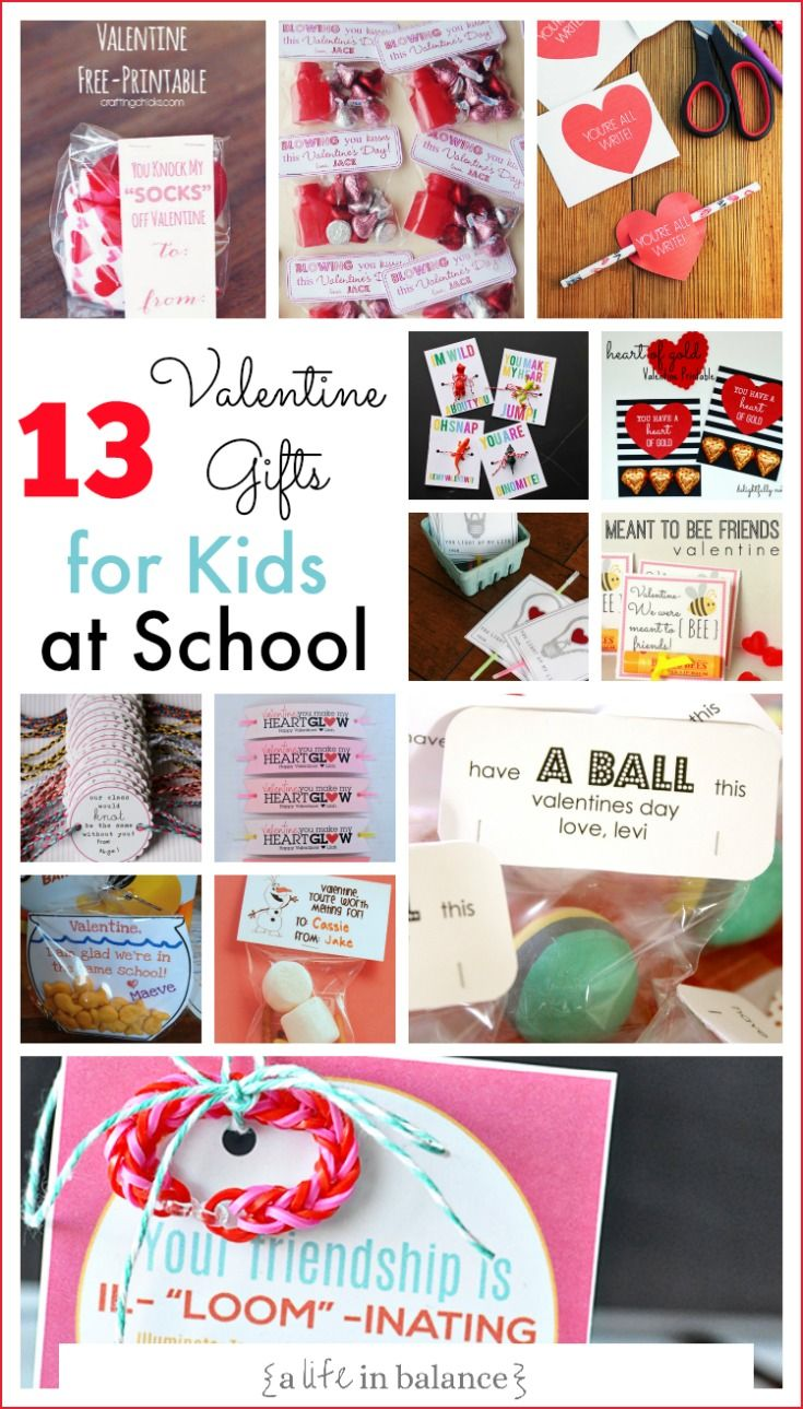 13 Amazing Easy Valentine Gifts for Kids at School (scheduled via www.tailwindap...