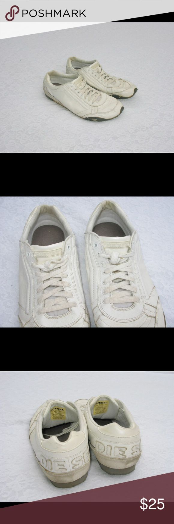 Diesel Sneakers This is for an amazing pair of Diesel Logo Sneaker Shoes.   Size 13  Condition: used  SOLD OUT!! You CANNOT find these in stores! Very Topman / Urban Outfitters Diesel Shoes Sneakers