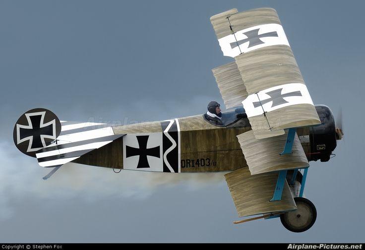 Private Fokker DR1 Triplane G-CDXR
