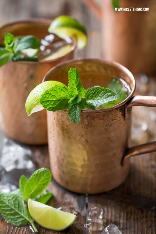 Nicest Things - Food, Interior, DIY: Moscow Mule im Kupferbecher