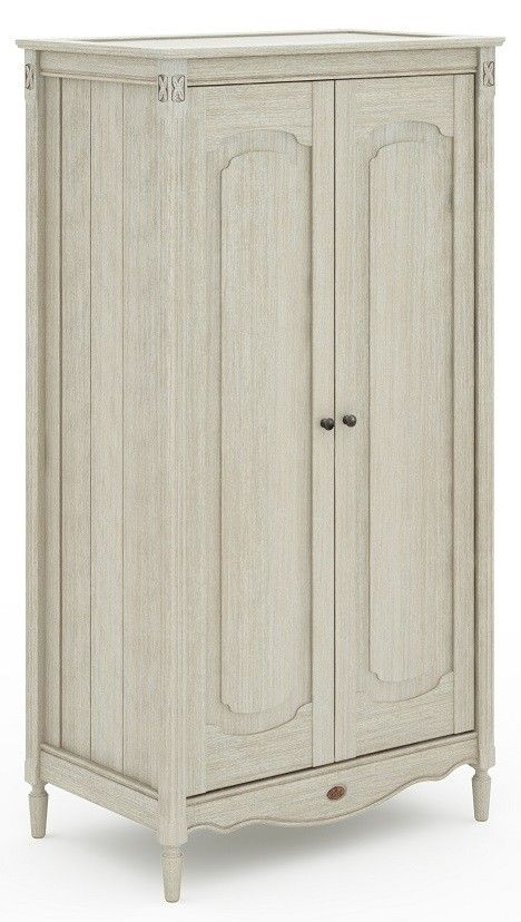 Boori Grace Wardrobe - Antiqued Grey