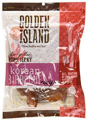 #grocery #Golden #Island Natural Style Pork Jerky, Korean Barbecue Recipe, 14.5oz by Golden Island Jerky Company, Inc. [Foods]