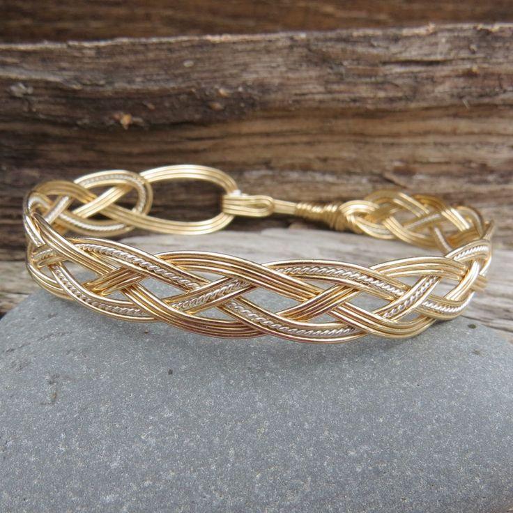 110 best Bracelet images on Pinterest | Wire bracelets, Wire ...