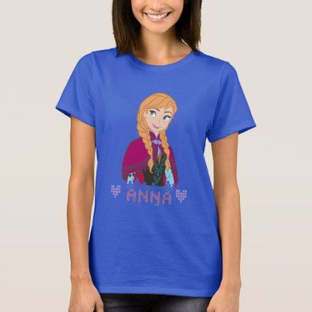 Anna | Portrait with Name T-Shirt - click to get yours right now!