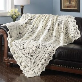 CROCHET PINEAPPLE AFGHAN FREE PATTERN.