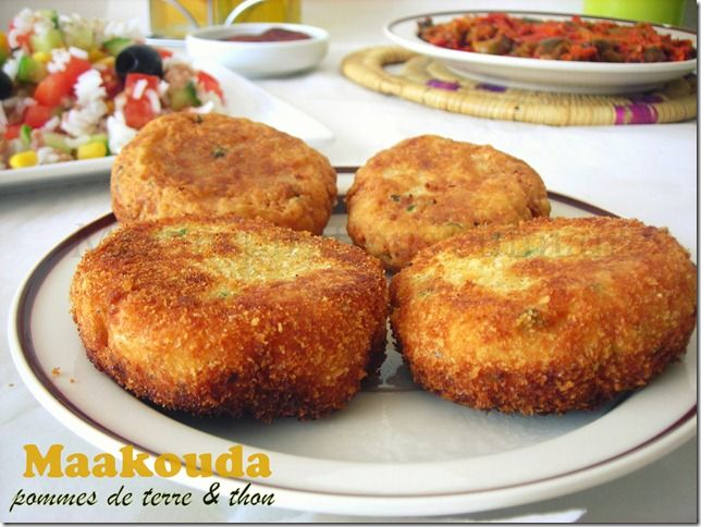 Maakouda au thon / galettes de thon ( معقودة بطاطا بالتونة )