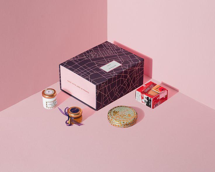 [Maison du Bon Petit Paris Gift box] Present / Cadeau / プレゼント / 引き出物 / 結婚式 / お中元 / お歳暮 / 母の日 / ウェディング / お返し / 送別品/Wedding/パッケージ/フランス/パリ/France/Paris/Pacage/ギフトセット