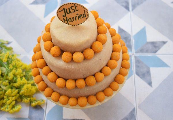 Τούρτα Γάμου χωρίς ζάχαρη, χωρίς βούτυρο και χωρίς λευκό αλεύρι !!