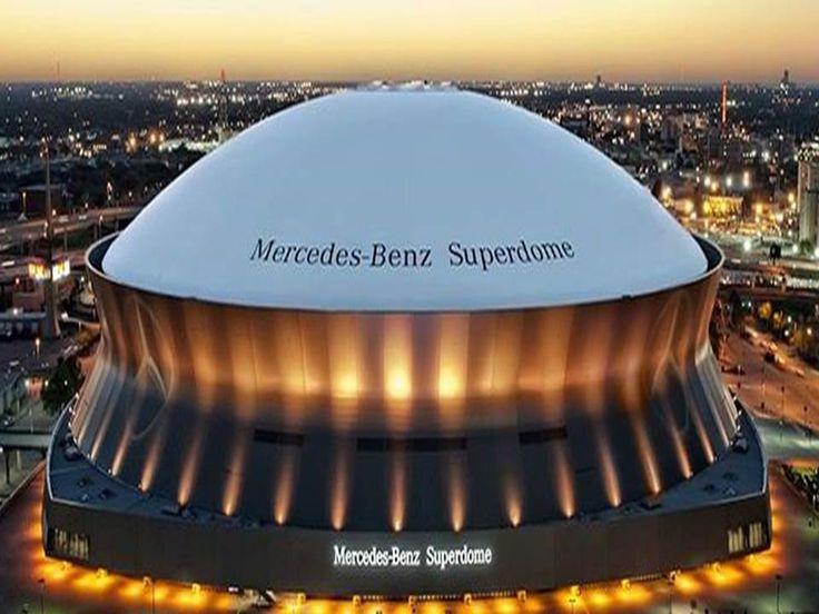 Mercedes Benz Superdome #WhoDat!!