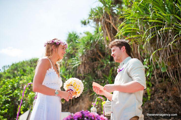 Beauty is love, and beauty is evident today.   #baliwedding #beachweddings #beach #wedding #Bali
