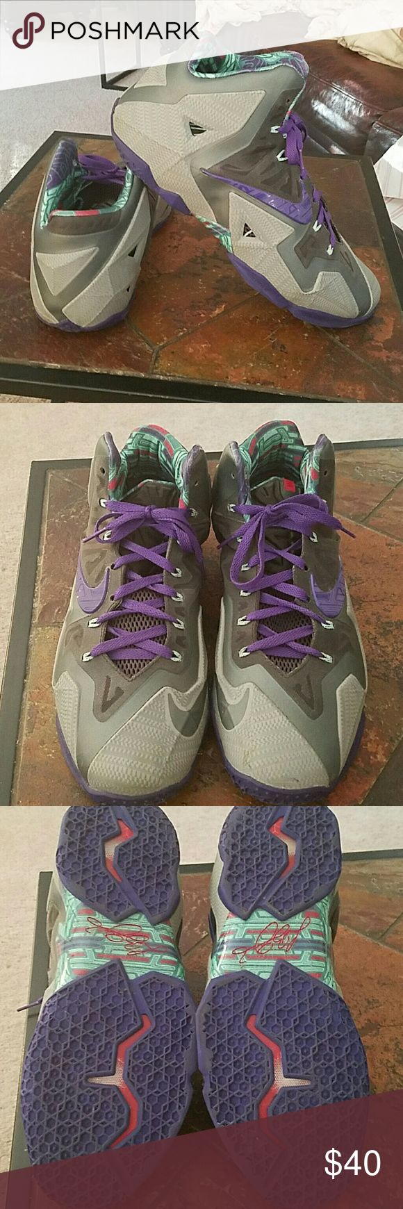 Mens Nike flywire LeBron james size 12 sneakers Mens size 12 ...Excellent condition Nike Shoes Sneakers
