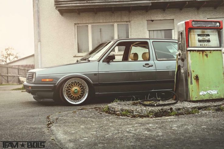 VW Golf MK2 - BBS Wheels