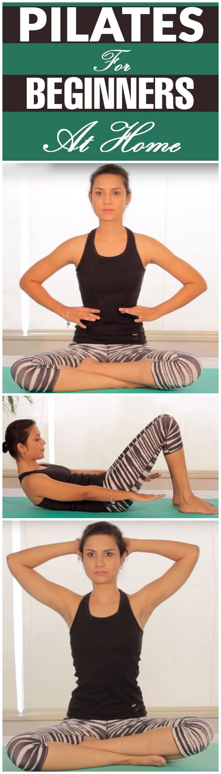 Pilates For Beginners At Home In 30 Minute
