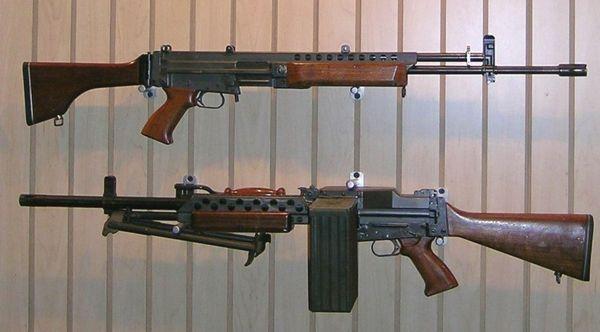 Stoner 63 | 56mm stoner 63 weapons in rifle top and light machine gun ...