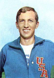 Dick Fosbury Ancien détenteur du record olympique : 2,24 m (1968) Naissance6 mars 1947 Taille1,93 m