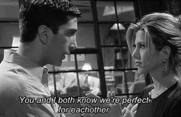ross and rachel ♥ ♥ ♥ #friends