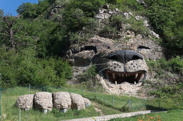 The Lion Rock in Karabakh, Armenia
