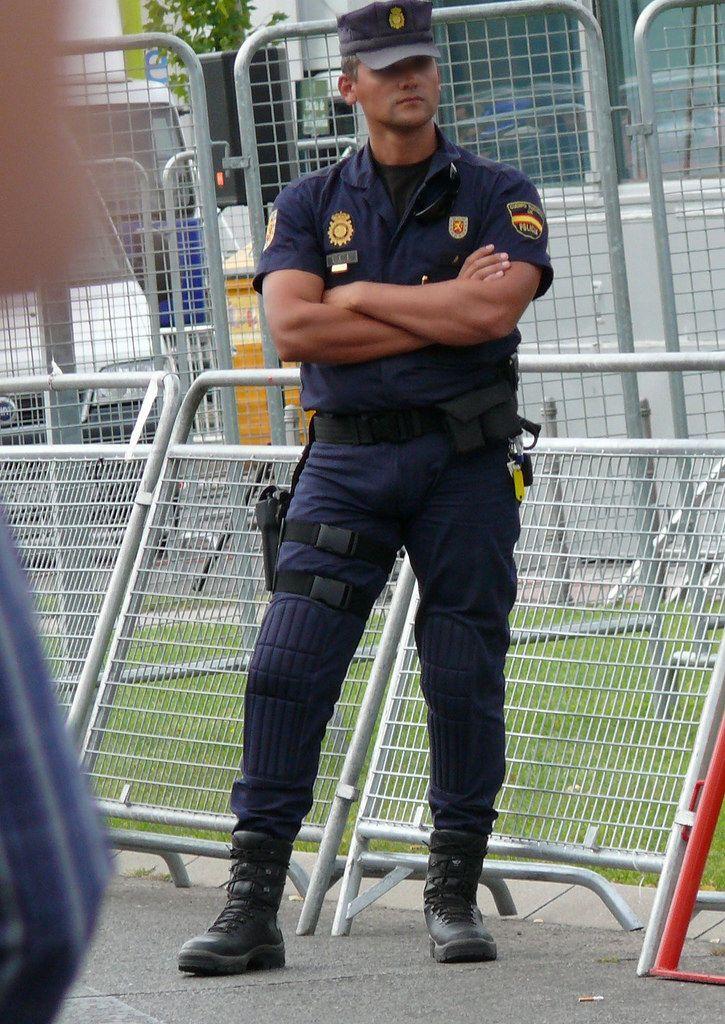 Policia Nacional - Uip  Los Uniformados Mas Guapos En -3919
