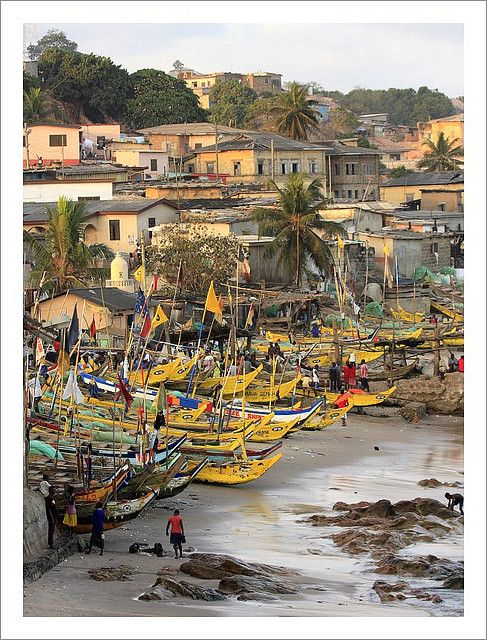 Cape Coast . Ghana. Love to visit this place.