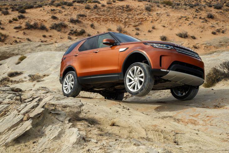 Тест-драйв нового Land Rover Discovery 5: открытие в Америке