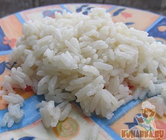 Кокосовый рис в мультиварке