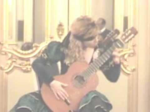PAGANINI CAPRICE no 24 Blindfolded !!! Galina Vale - YouTube
