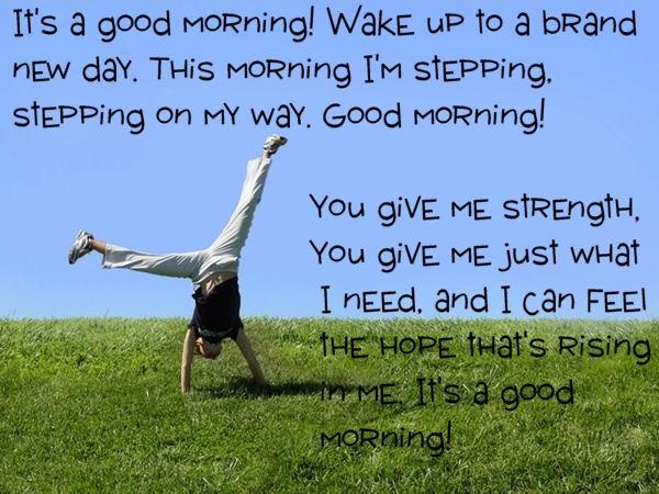 """""""Good Morning"""" - Mandisa"""