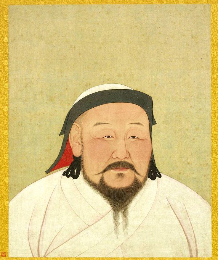 Kublai Khan as the first Yuan emperor, Shizu (Yuan dynasty: 1271–1368). Photo: © National Palace Museum, Taipei