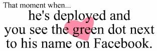 mini heart attack SO TRUE OMG!: Fb Messages, Soldiers, Deployment Quotes, Butterflies 3, Instant Butterflies, Truths, Skip Beats, Give Me Butterflies, Green Dots