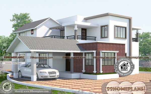Architecture Design Of Houses In India With Double Story Bungalow Plans Architecture House House Architecture Design Architecture Design