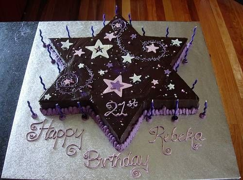 39 Best Purple Birthday Cakes Images On Pinterest