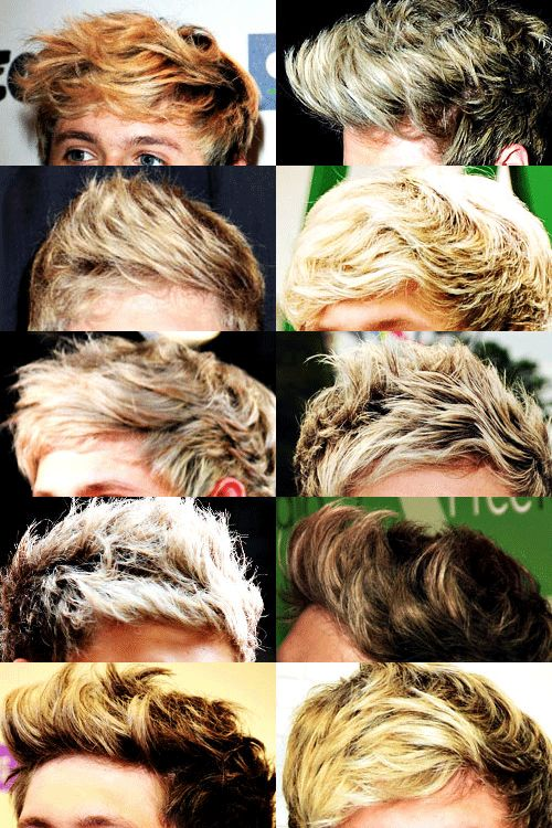 I always freaking forget Niall's a brunette...<<< I love when his brunette roots start to show.