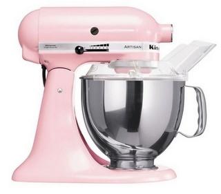 Pink kitchen aid