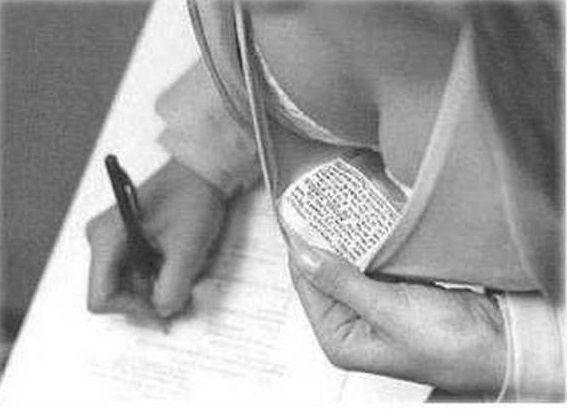 girls cheat in exams 03