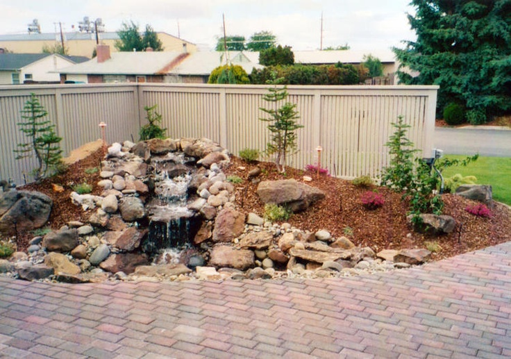 Landscaping Rock Yakima Wa : Best images about ponds and bubbling brooks on