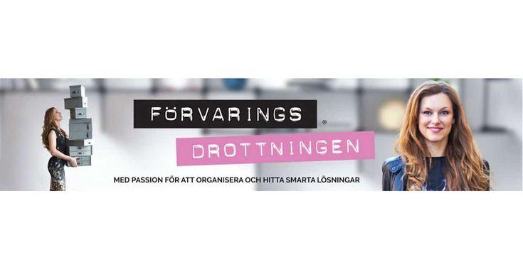 """Sveriges största blogg om smart förvaring och organisering av hemmet. Häng på """"ett uppdrag i veckan"""" och lär dig att organisera ditt hem du också!"""
