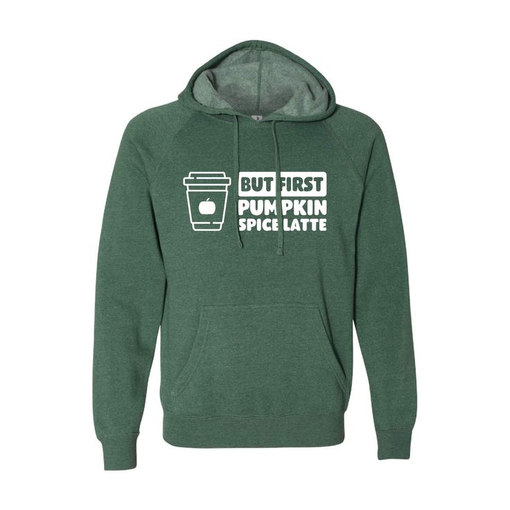 But First, Pumpkin Spice Latte Pullover Hoodie