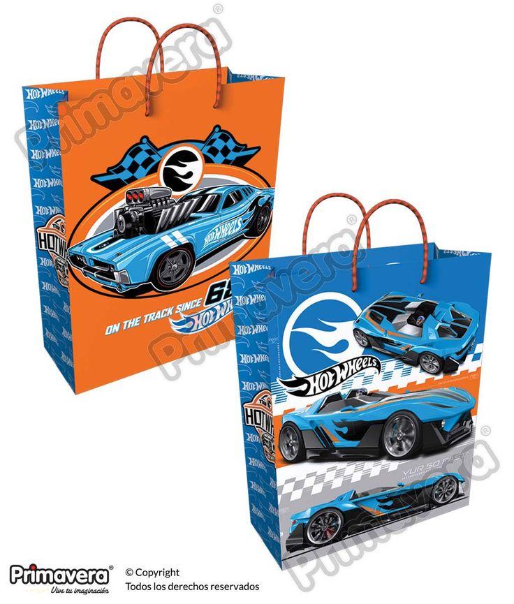 Bolsa Regalo Hot Wheels http://envoltura.papelesprimavera.com/product/bolsa-regalo-personajes-hot-wheels-2/