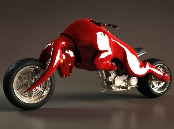 If Red Bull gives you wings imagine what this motorcycle can do!