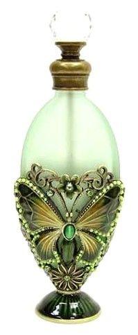 missingsisterstill:    Antique perfume bottle (breen, butterfly)