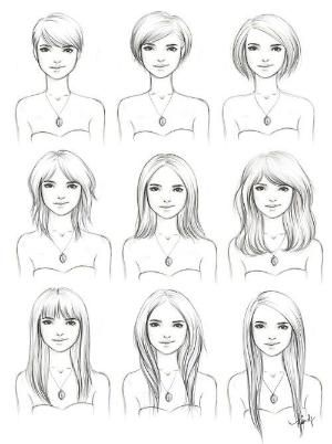 Growing out short hair guide! Will try...giving it two years this time before I go short again for good by lihoffmann