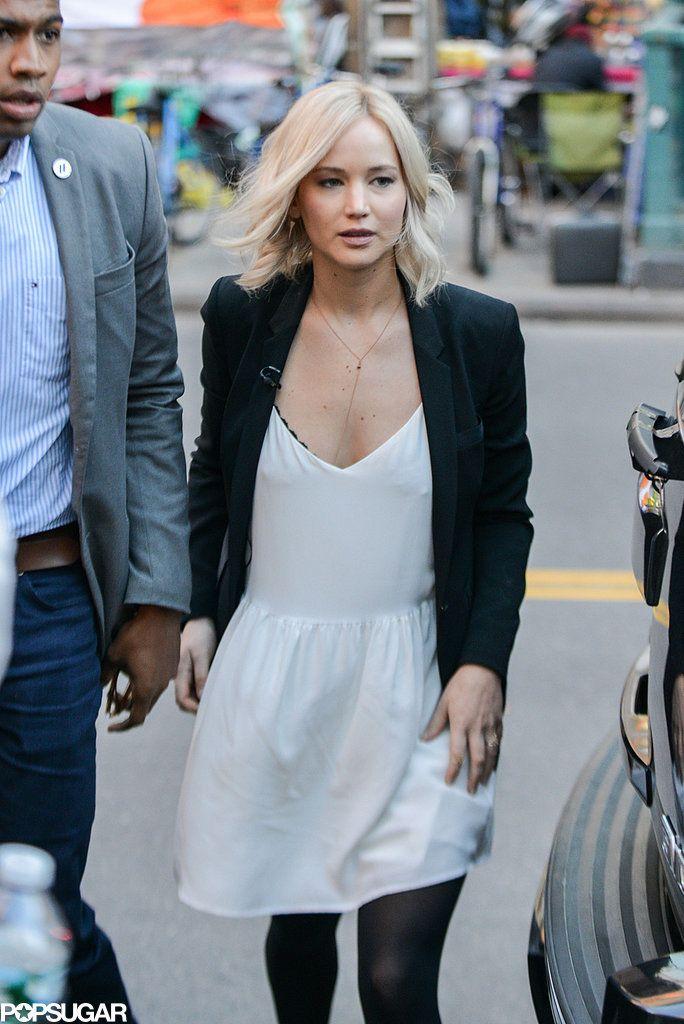 Jennifer Lawrence Out in NYC October 2015 | Pictures | POPSUGAR Celebrity