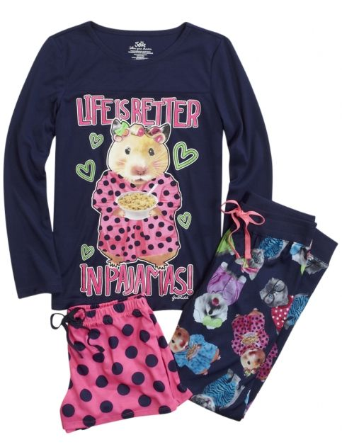 Hamster Pajama Set | Girls Pajamas Pjs, Bras & Panties | Shop Justice