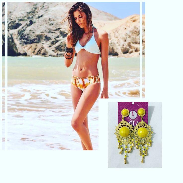 Hermosos #VestidosDeBaño combinados con #Accesorios que les dan mucho estilo y un toque #luxury a tu #outfit de #verano 👙🏖👌🏼
