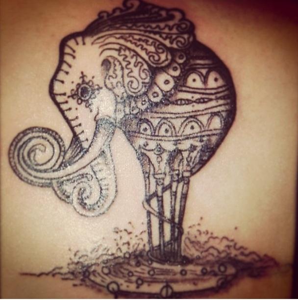 Good Luck Elephant Tattoo: 26 Best Elephants=loyalty/ Good Luck Images On Pinterest