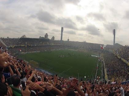Desde la tribuna, en Rosario